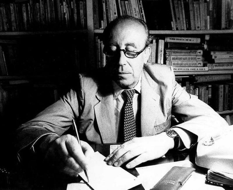 Fracisco García Pavón nació el 24 de septiembre de 1919